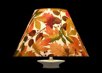 Lampshades Feuilles d\'Autumn