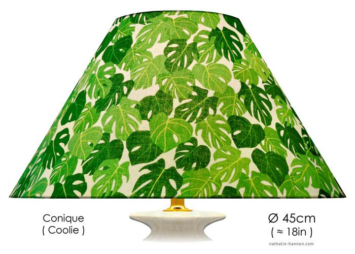 Abat-jour Green Exotic Foliage