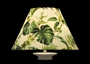 Lampshades Green Foliage Paradise