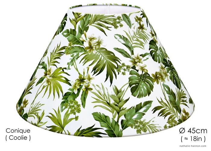 Abat-jour Green Foliage Paradise