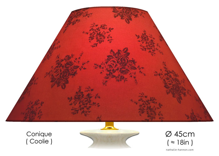 Lampshade Floral Decor