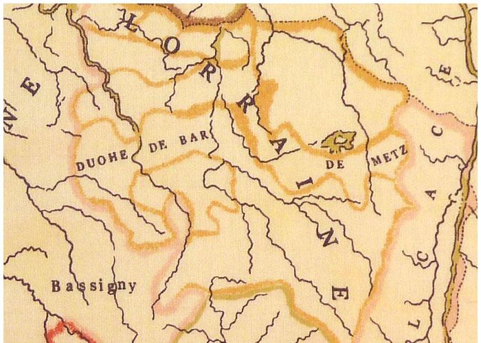 Abat-jour Carte des Provinces
