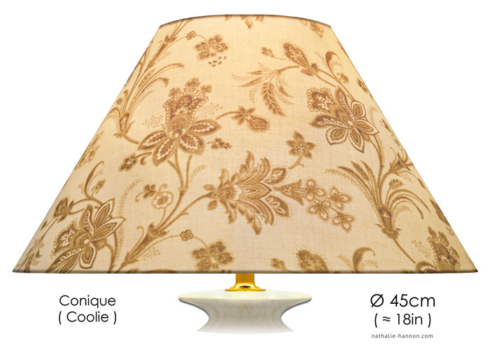 Lampshade Beige Provence