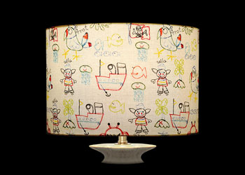 Lampshades Child Drawings