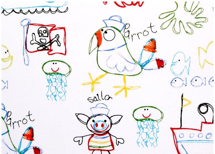 Abat-jour Child Drawings