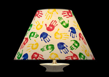 Lampshades Tiny Hand Prints