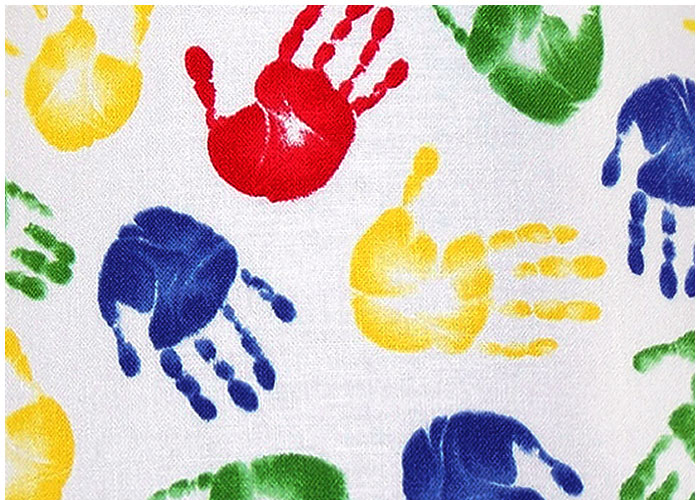 Abat-jour Tiny Hand Prints