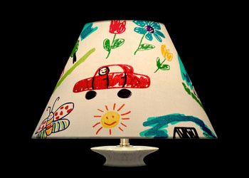 Lampshades Dessins d\'Enfants