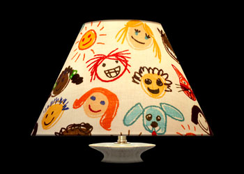 Lampshades Happy Faces