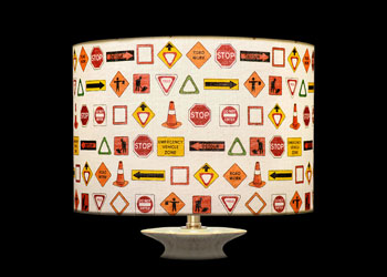 Lampshades Road Signs
