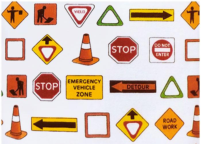 Abat-jour Road Signs