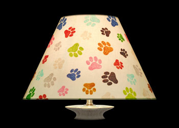 Lampshades Paws