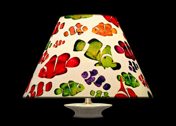 Lampshades Poissons-Clowns