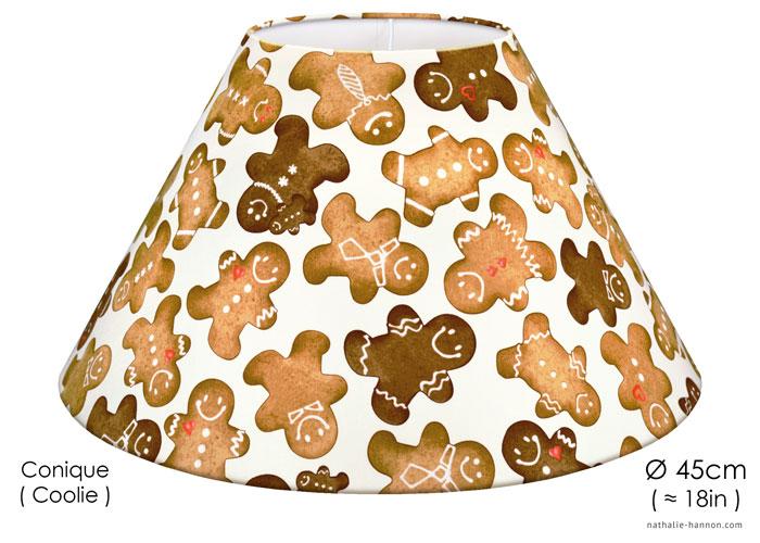 Abat-jour Gingerbread Man
