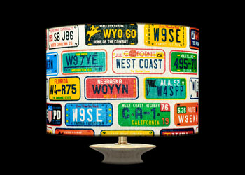 Lampshades License Plates